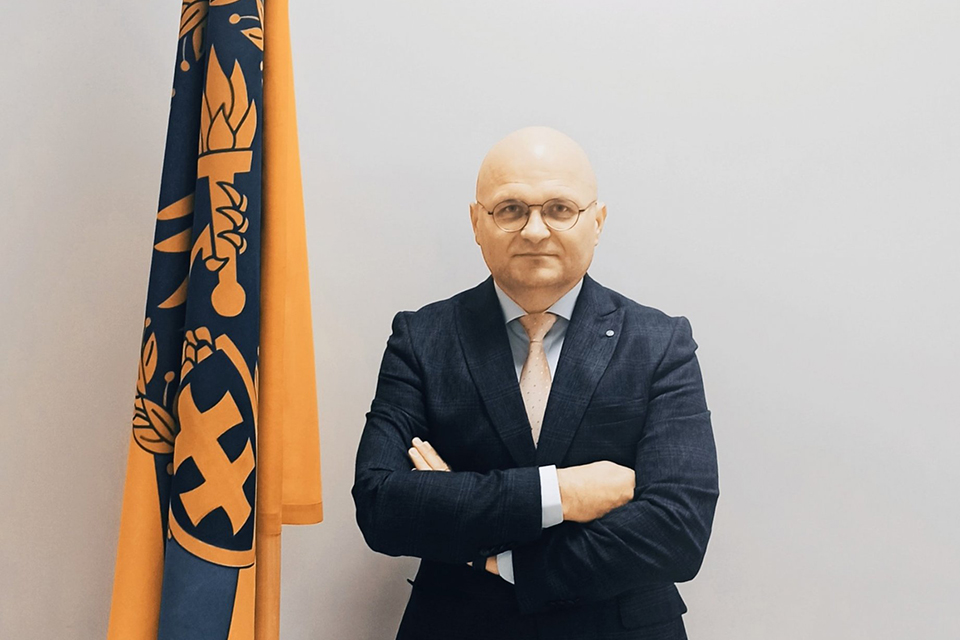 Nuo sausio Klaipėdos STT valdybai vadovaus Žydrūnas Krampalcas