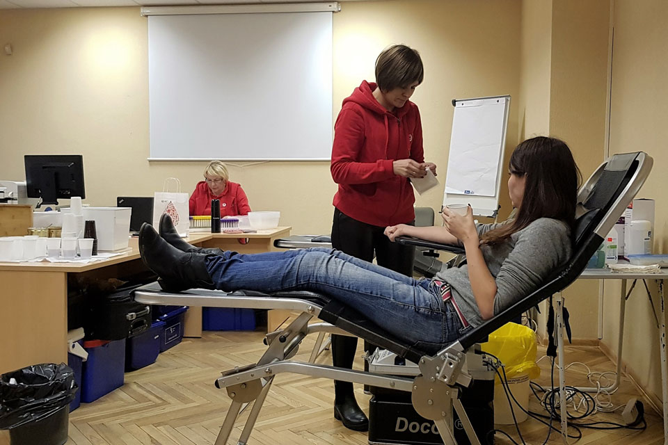 Trūksta kraujo donorų