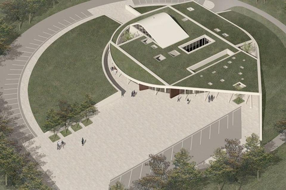 Šalia Klaipėdos pradėjo statyti krematoriumą