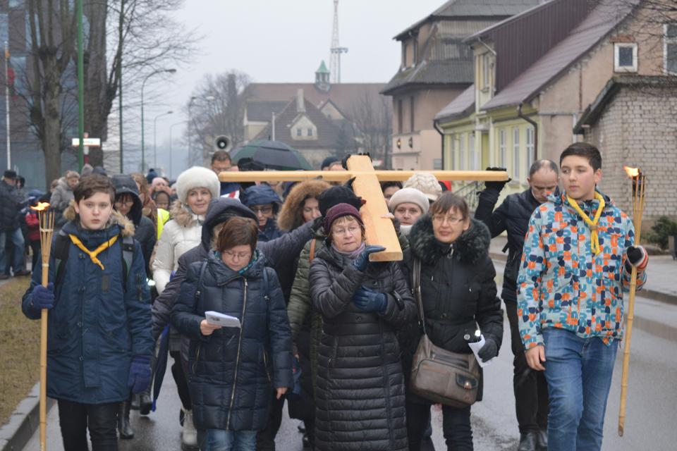 Klaipėdos gatvėse – Kryžiaus kelias