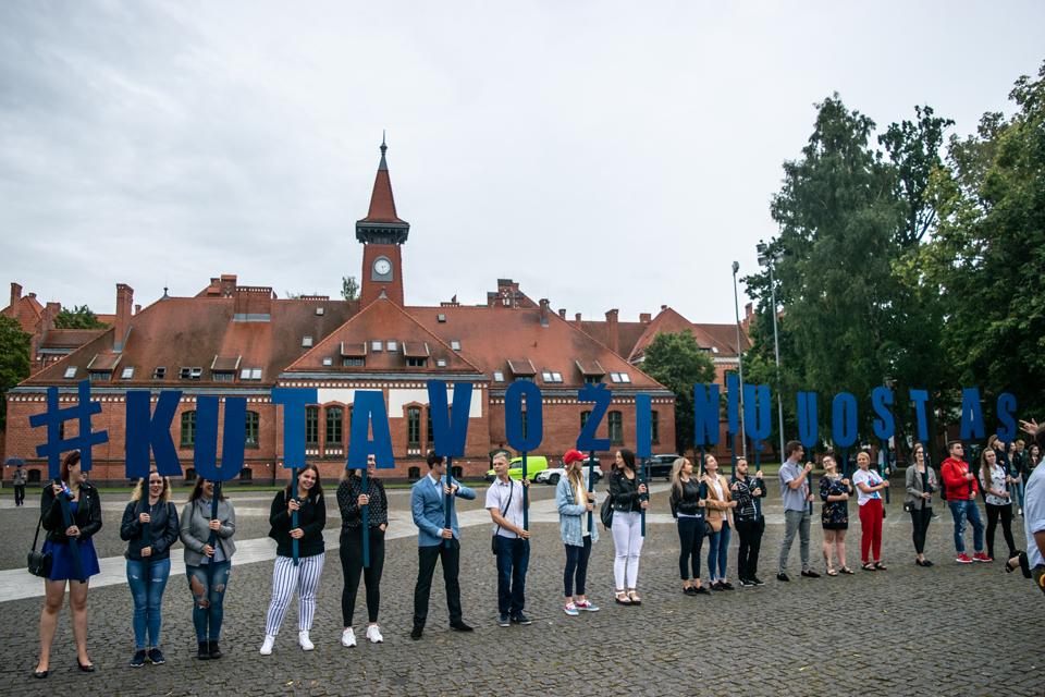 Klaipėdos universitetas mokslo metus pasitinka su naujovėmis