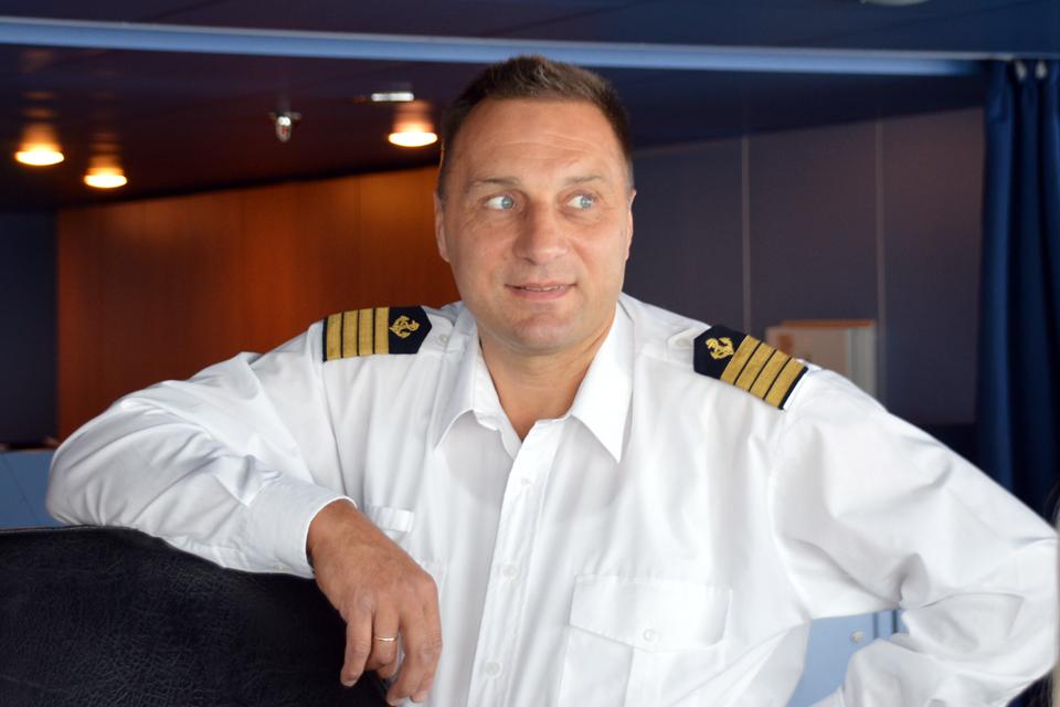 """Kapitoną į jūrą paviliojo burlaivis """"Krusenstern"""""""