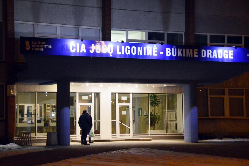 Klaipėdos universitetinėje ligoninėje atsiras prietaisai apsinuodijimams identifikuoti