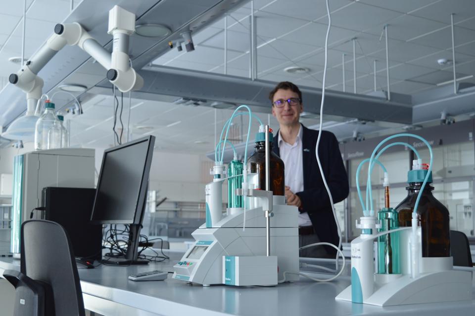 Universitete – itin modernios laboratorijos