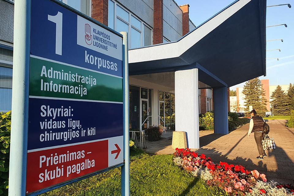 Ligoninės priimamasis: pirmenybė – sunkiems ligoniams