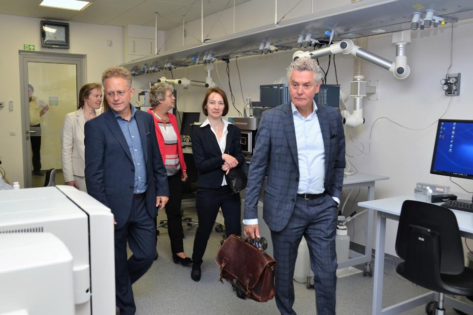 Olandai mato darbo su Klaipėdos universitetu perspektyvą