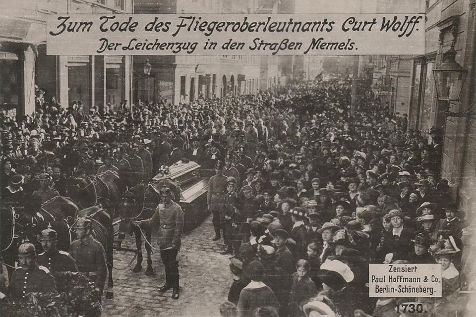 Ką patyrė Klaipėda I pasaulinio karo metu? II
