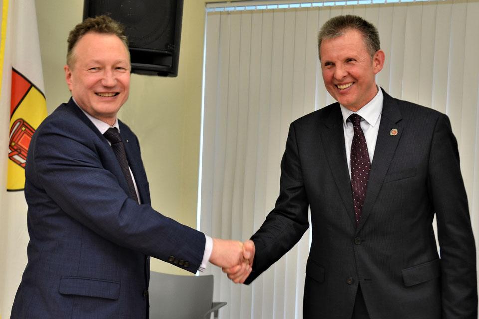 Klaipėdos universitetas bendradarbiaus su Tauragės savivaldybe