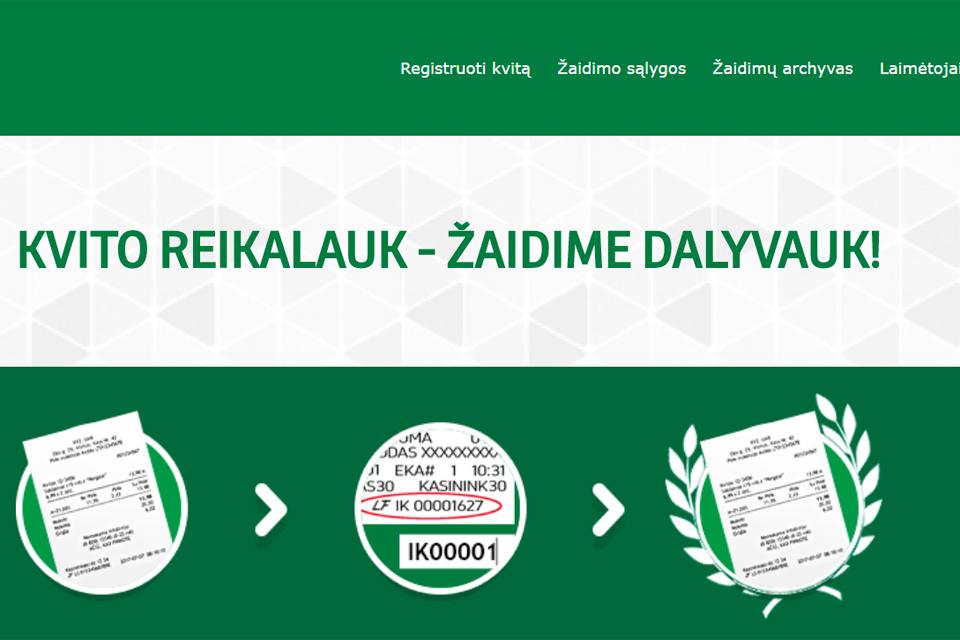 Klaipėdos regione – 122 laimingi kvitai