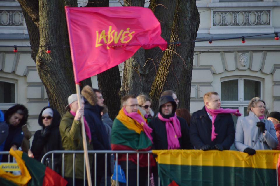 Laisvės partija Klaipėdoje pradėjo naujo skyriaus istoriją