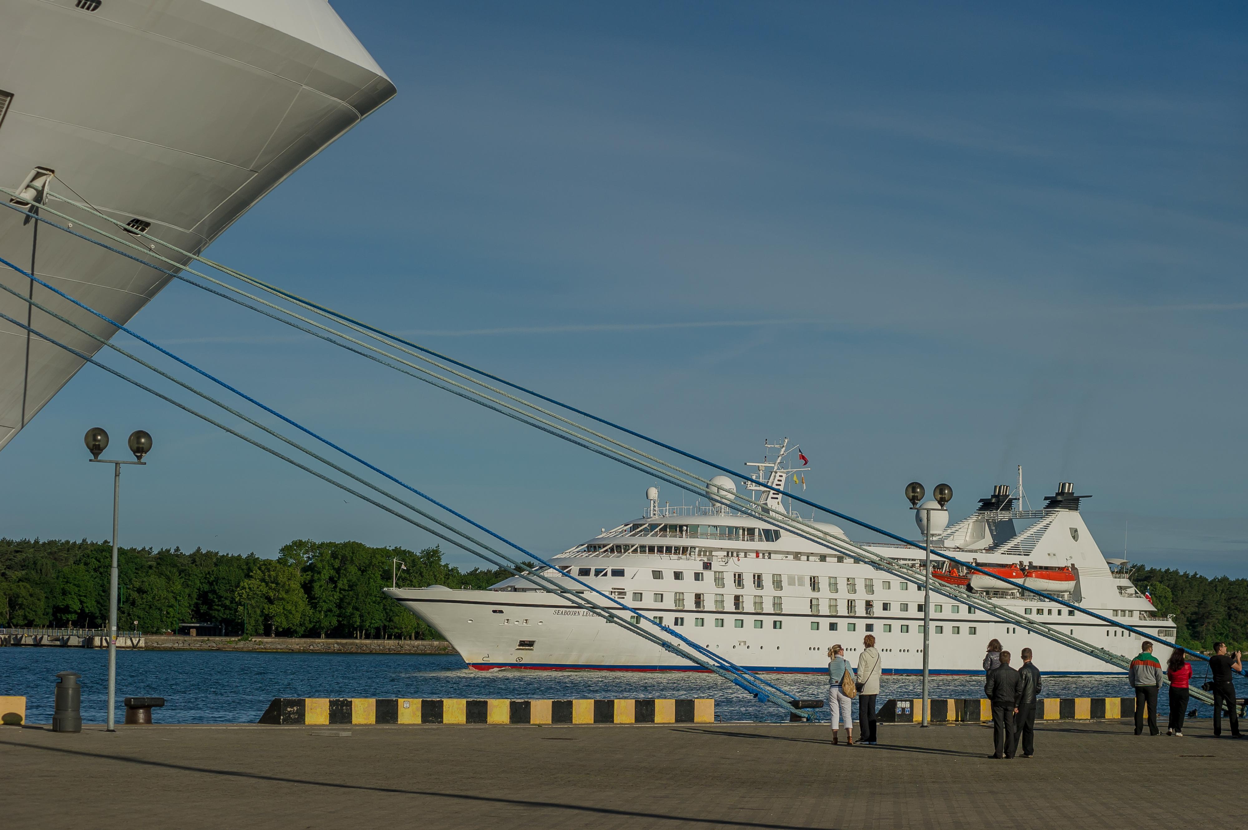 Спустя год: первый круизный лайнер может прийти в Клайпеду не раньше июля