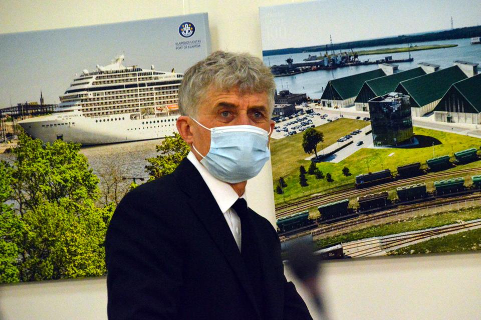 """Naujasis Uosto direkcijos vadovas: """"Į uostą žiūriu kaip į avilį"""""""