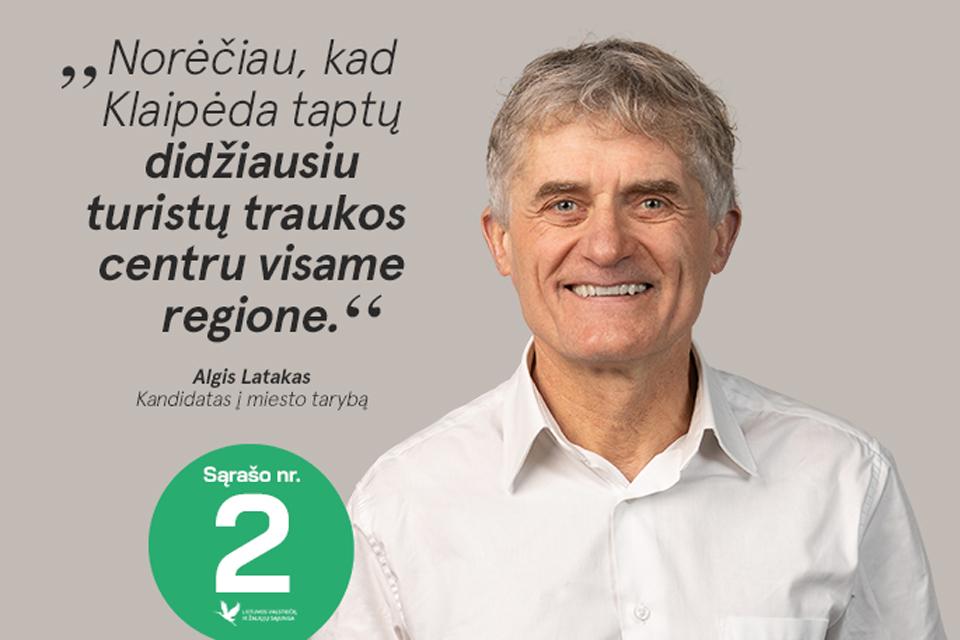 Naujas Uosto direkcijos vadovas – Algis Latakas