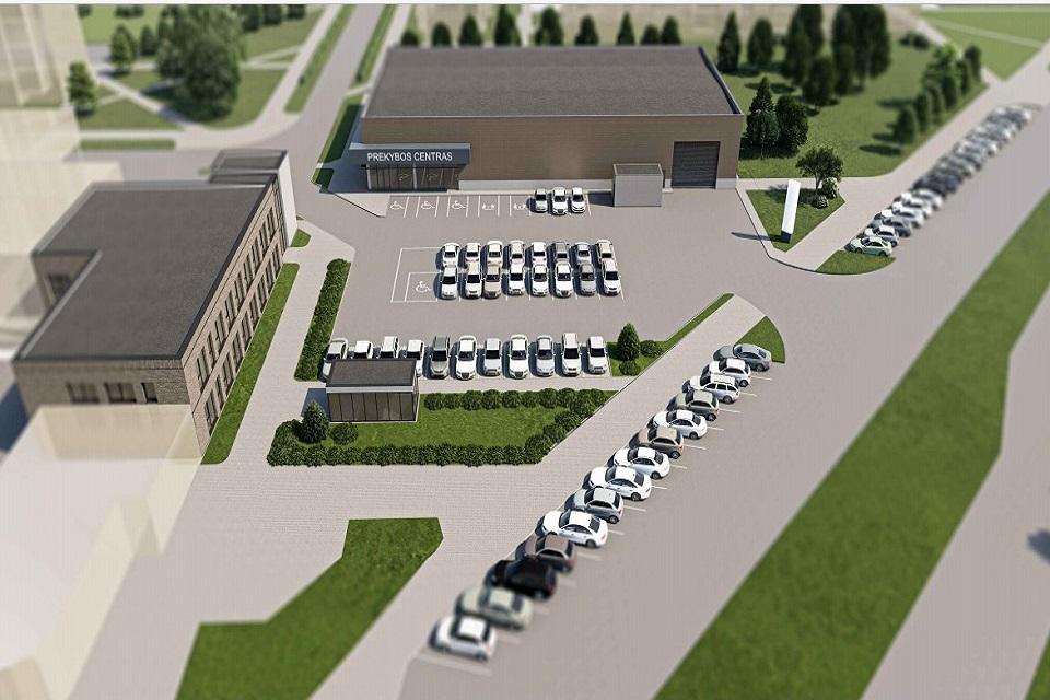 Klaipėdoje – ir naujas prekybos centras, ir poliklinika