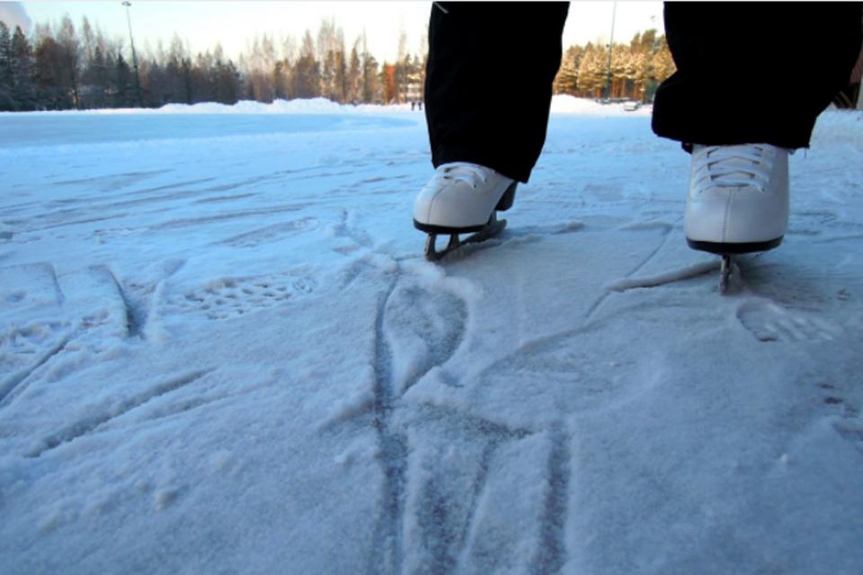 Kuršių marių ledas – nesaugus