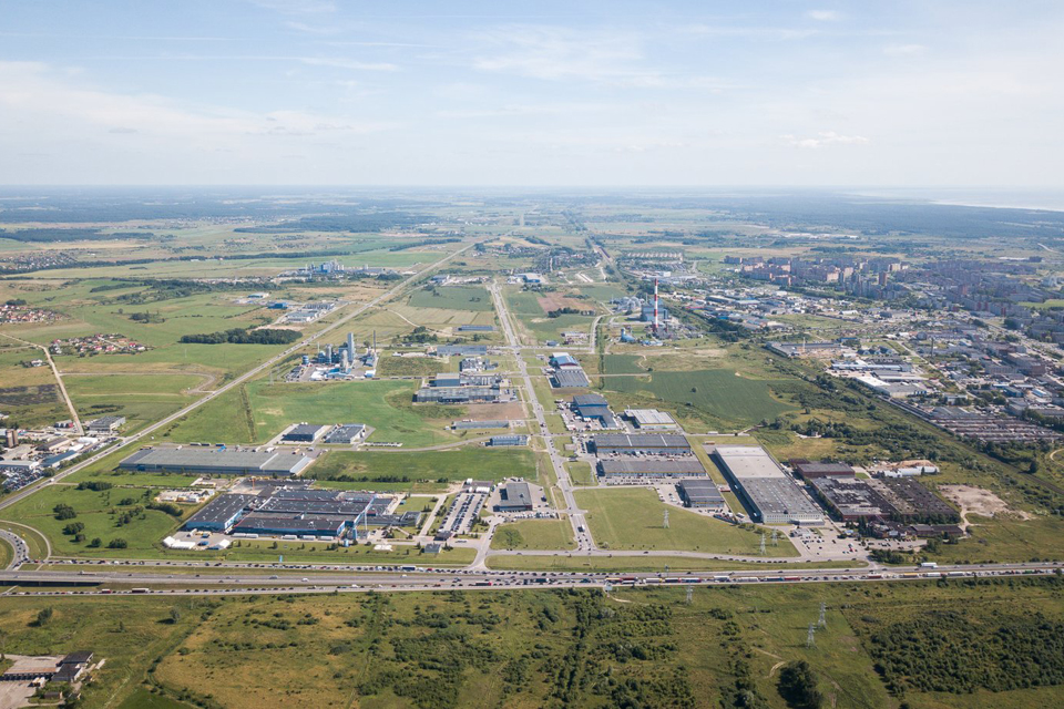 Auga Klaipėdos LEZ veikiančios įmonės