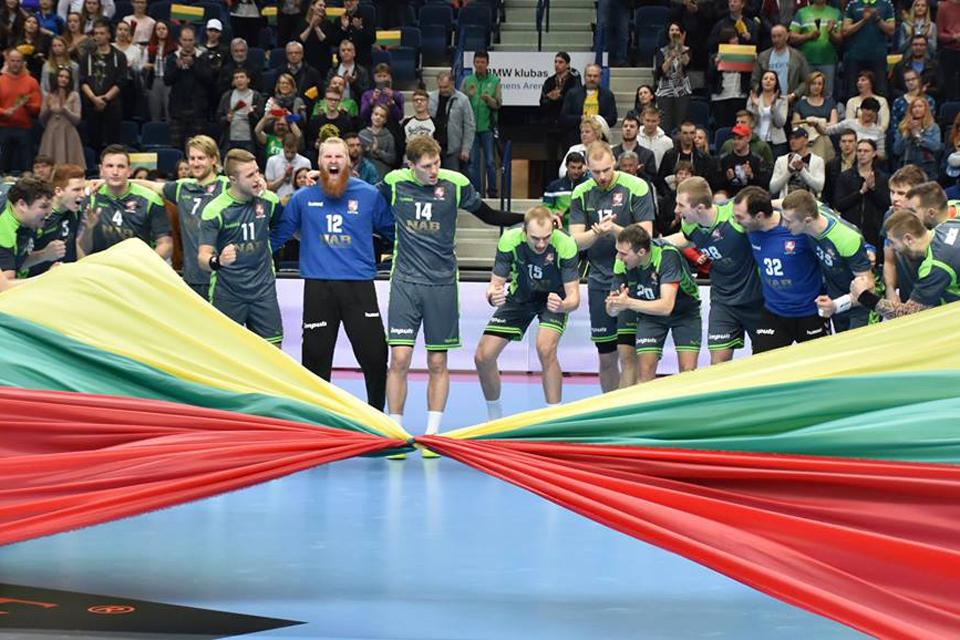 Lietuvos vyrų rankinio rinktinė – jau Klaipėdoje