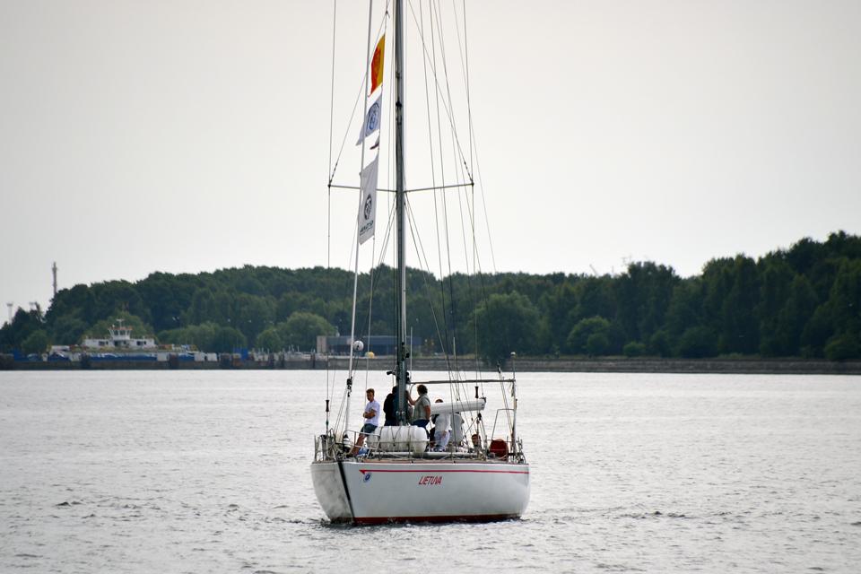 """Jachta """"Lietuva"""" ruošiasi į šimtmečio kelionę"""