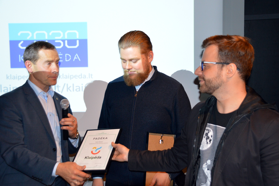 Klaipėdos logotipas: visuomenės verdiktas