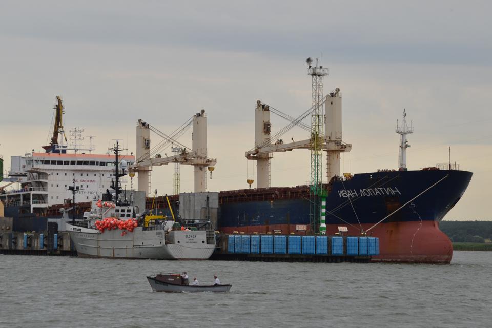 """Tarp aukciono lyderių – laivas """"Ivan Lopatin"""""""