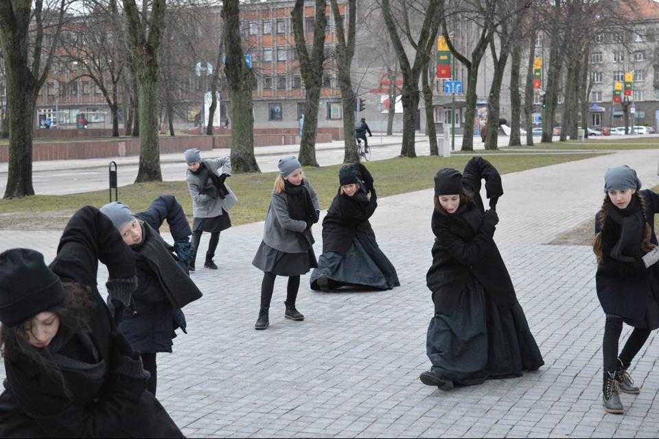 Karalienė Luizė sugrįžo į Klaipėdos gatves