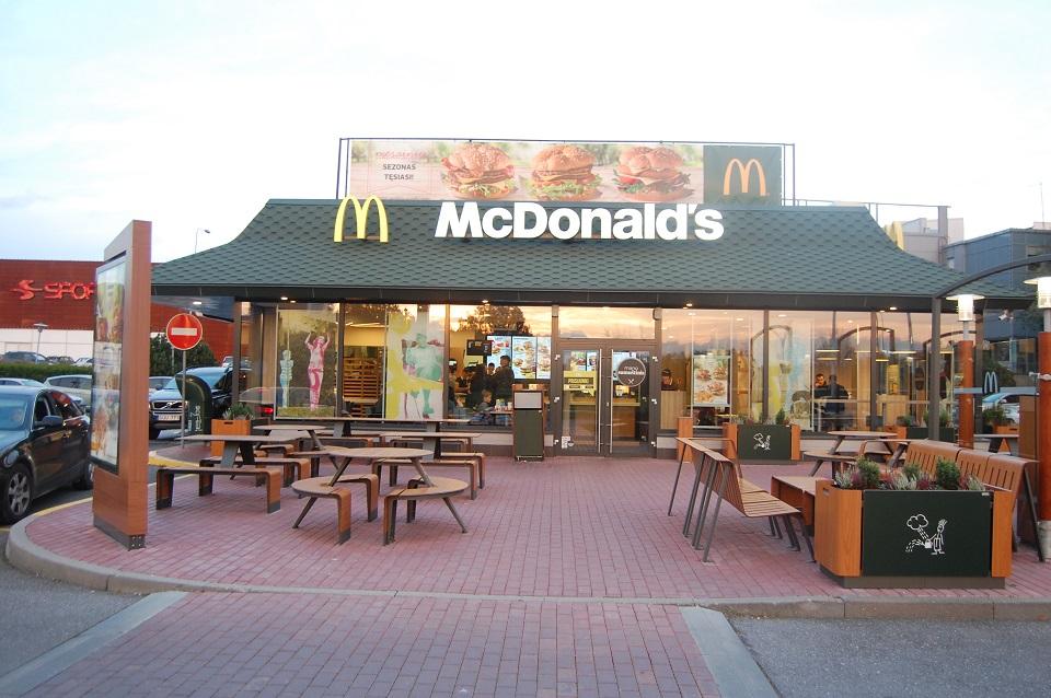 """McDonald's"" VS Matijošaitis"