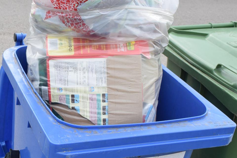 Individualių valdų savininkus ragina rūšiuotoms atliekoms naudoti skaidrius maišus