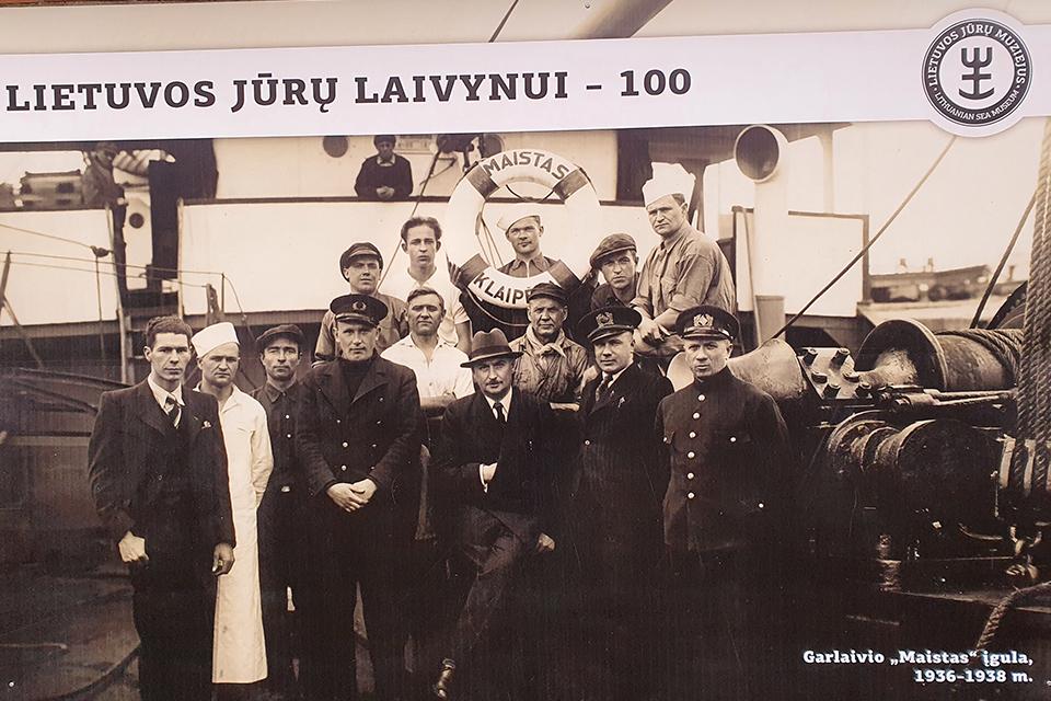 Lietuvos laivynas: ilga kelionė per kopas