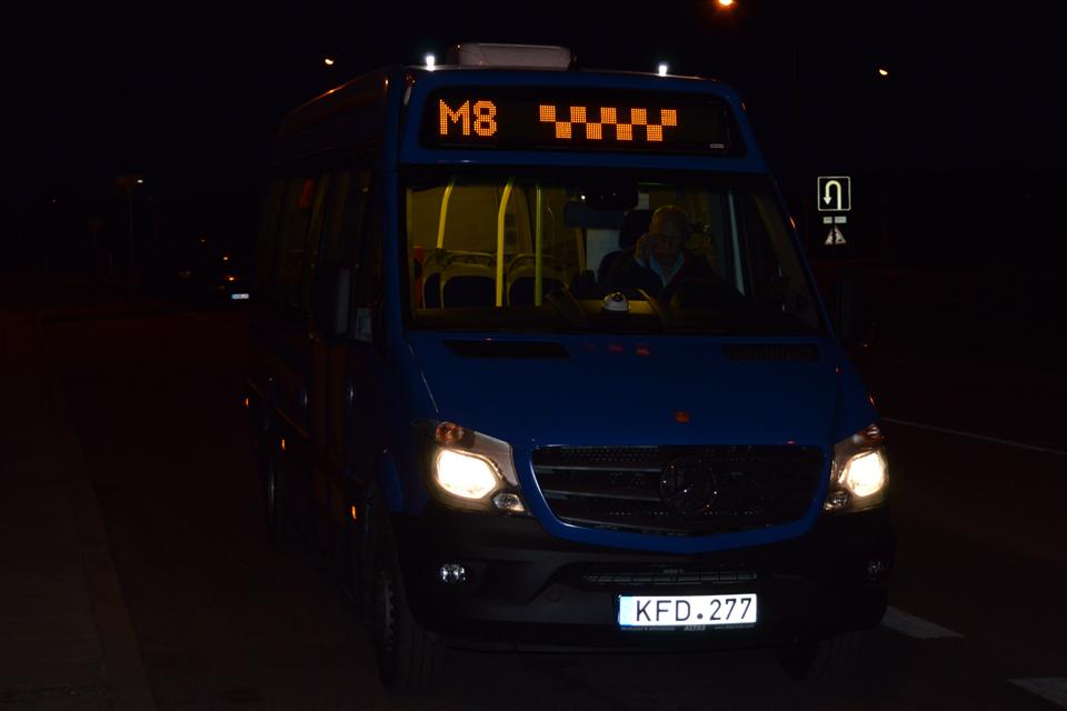 Startavo naujieji maršrutiniai taksi