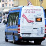 Maršrutiniame taksi galima atsiskaityti mobiliuoju telefonu