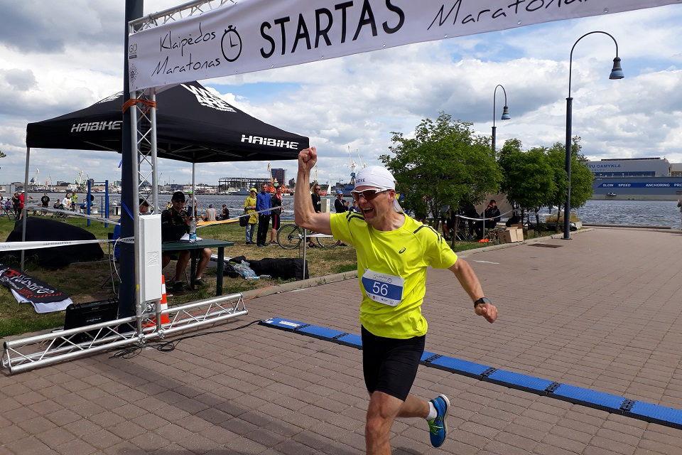 Klaipėdos maratone dominavo vyrai, bet sidabrą laimėjo moteris
