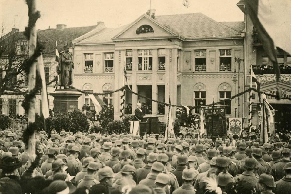 Ką patyrė Klaipėda I pasaulinio karo metu?