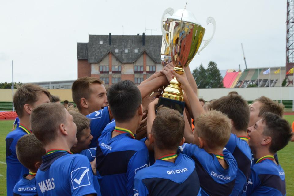 Klaipėdos mero taurė iškeliavo į Panevėžį