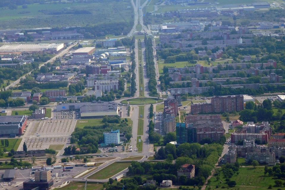 Bendrasis miesto planas: sudėliojo taškus