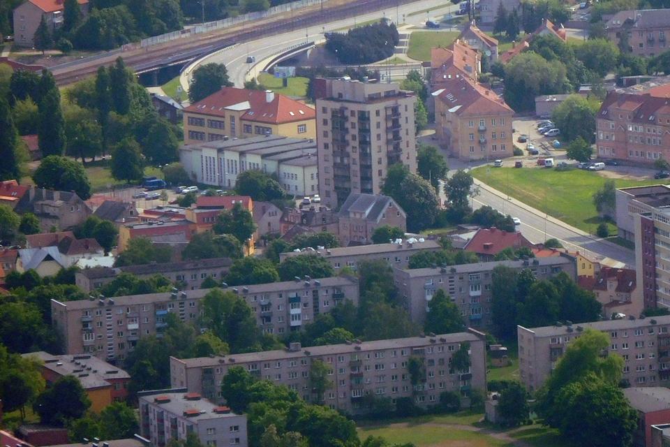 Auga ir Klaipėdos NT sandorių rinka