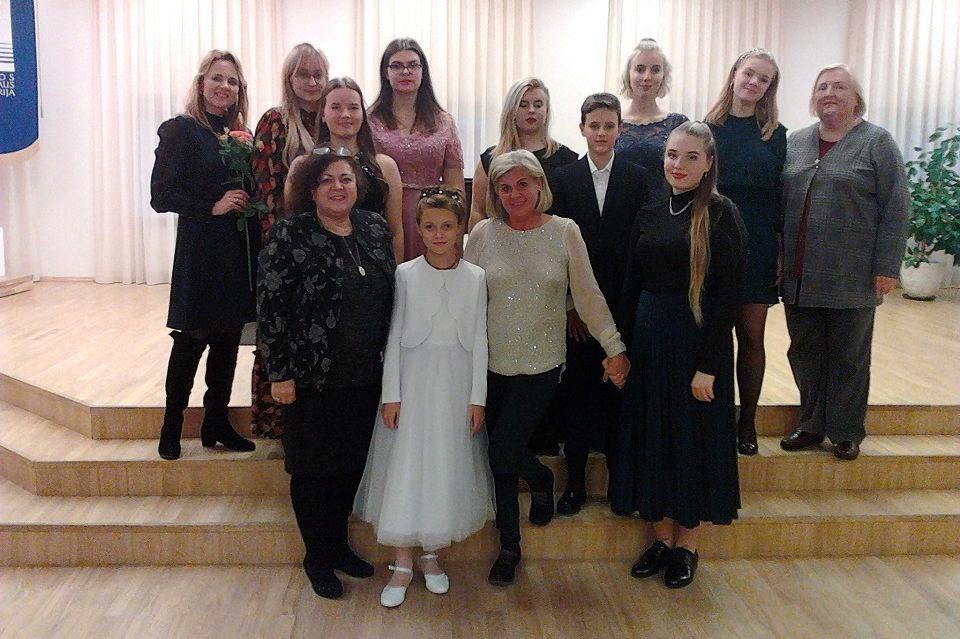 Meistriškumo pamokas vainikavo koncertas