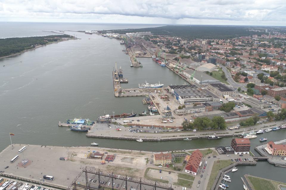 Uosto direkcija 19-ai metų pasiskolino 136 mln. eurų