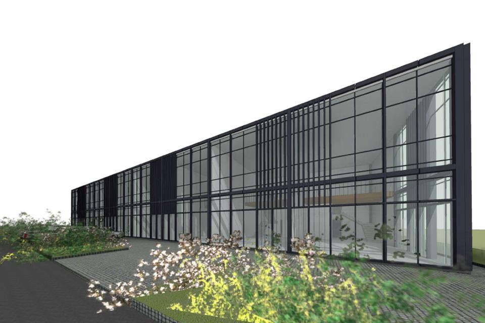 Pietinėje Klaipėdoje – naujas prekybos paskirties pastatas