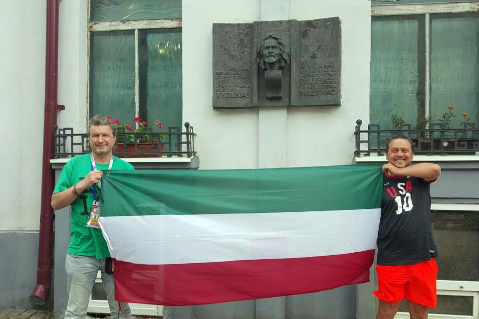 Amerikos lietuviai Karaliaučiaus krašte drąsiai kėlė Mažosios Lietuvos vėliavą