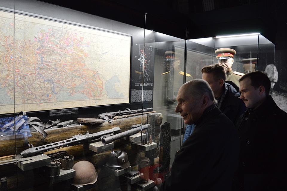 В клайпедский музей прибыли бойцы подразделения по антитеррористическим операциям. Полиция изъяла взрывчатку