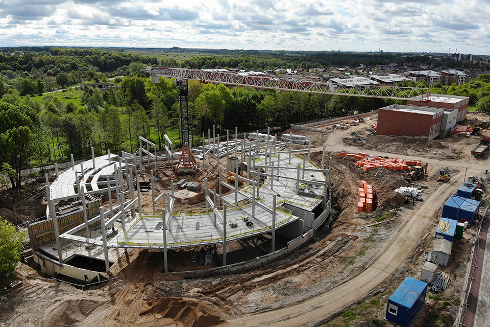 Naujosios mokyklos statybos: rangovas tapo nepatikimu, kaina jau išaugo 1,7 mln. eurų