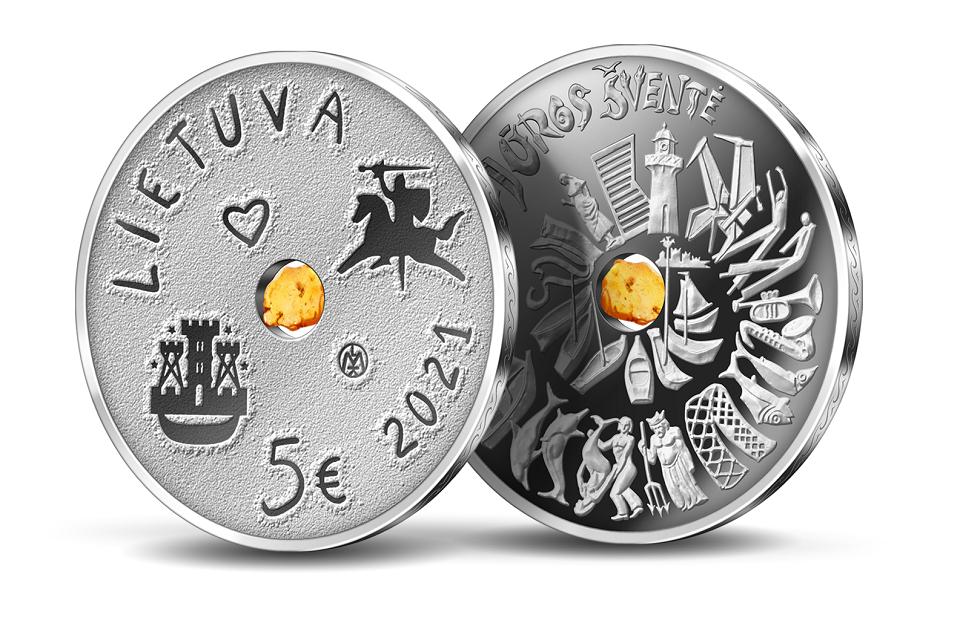 Jau galima įsigyti proginių Jūros šventės monetų