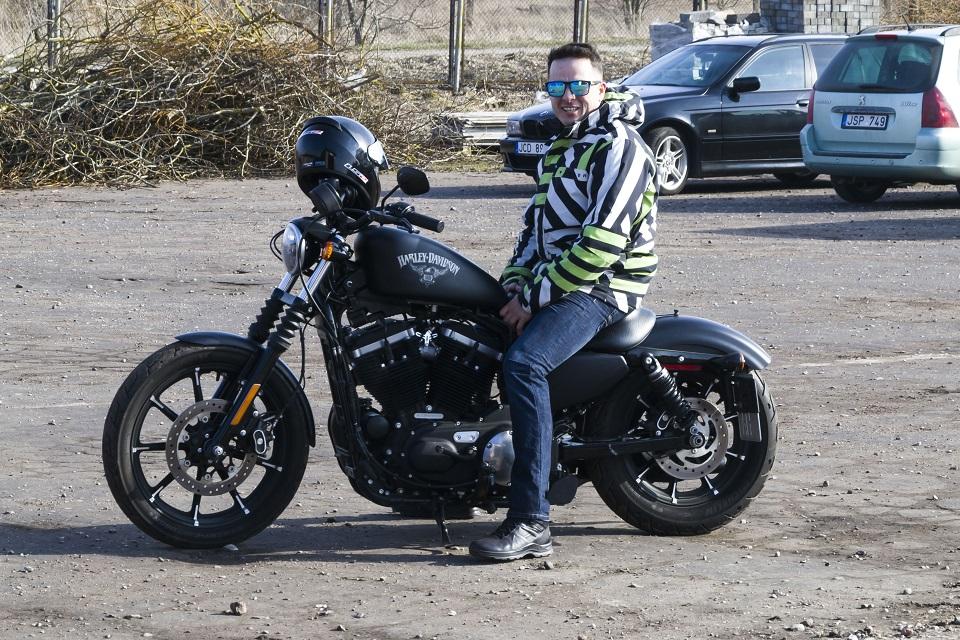 Pareigūno aistra – motociklai