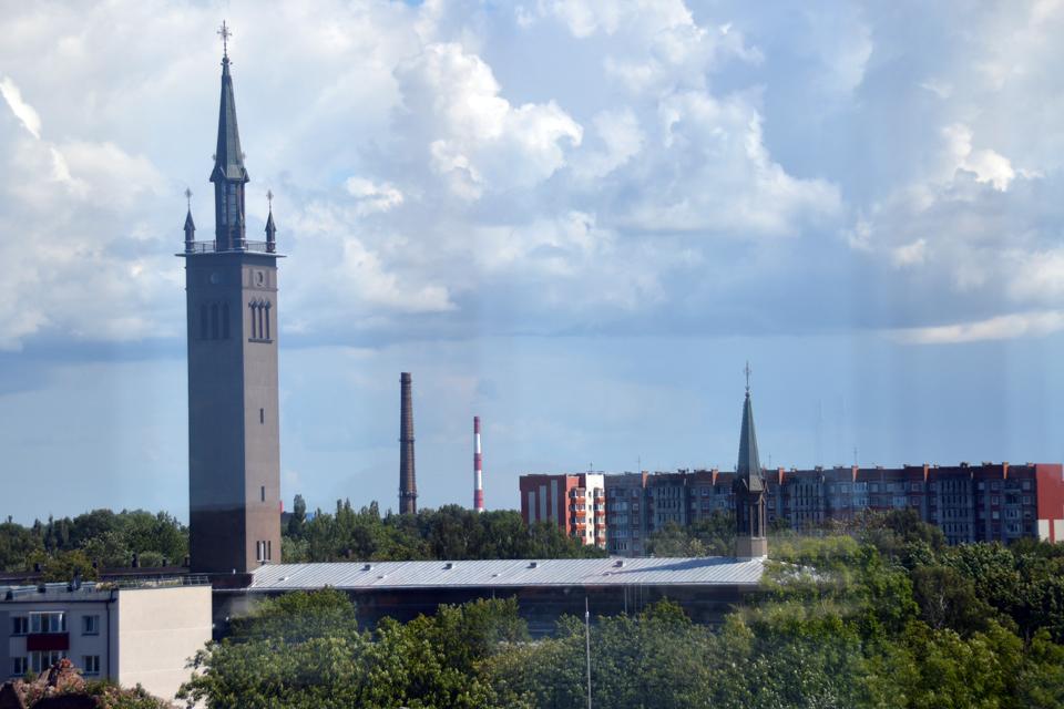 Palaimins Klaipėdos miestą