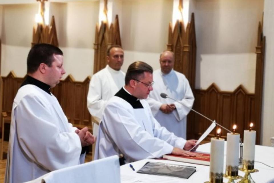 Perdavė Marijos Taikos Karalienės bažnyčios parapiją