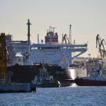 Prisišvartavo laivas su Baltarusijai skirta nafta
