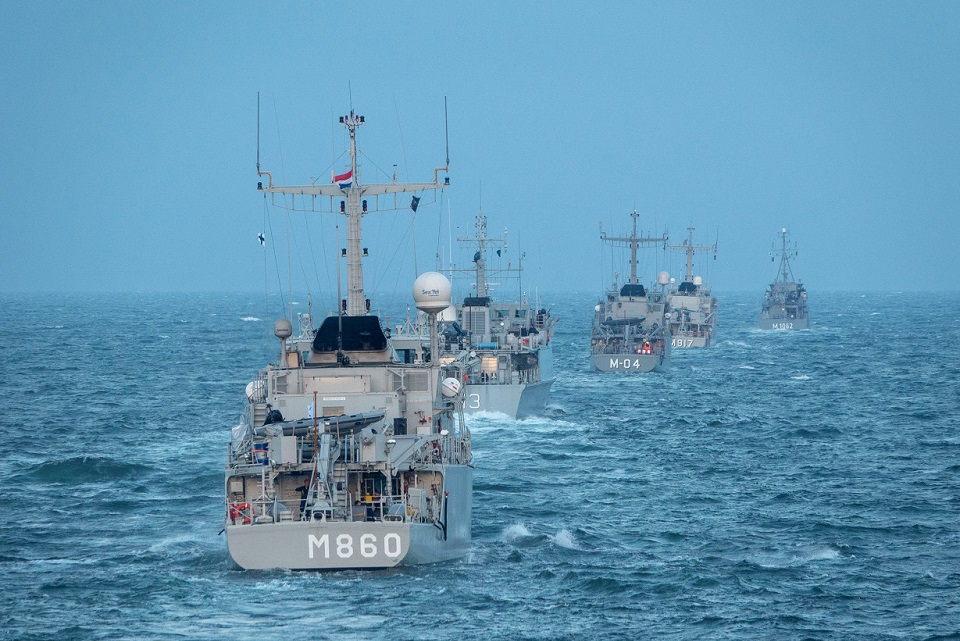 NATO laivų junginys lankysis Klaipėdos uoste
