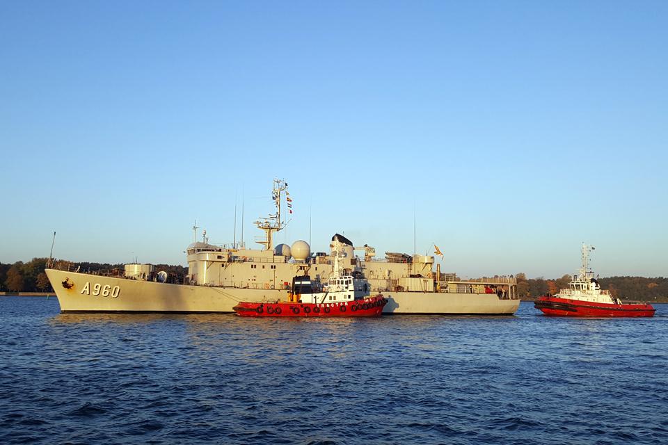 NATO laivai – jau Klaipėdoje