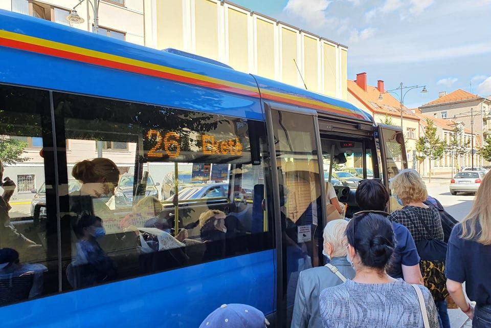 COVID-19 užsikrėtė Klaipėdos autobusų parko vairuotojas