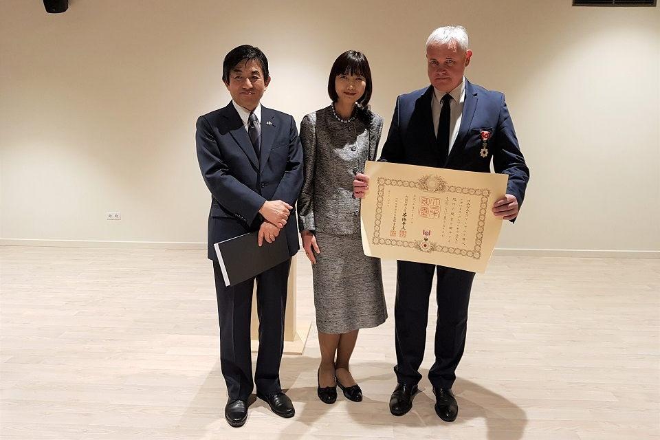 Klaipėdos merui – Japonijos ordinas